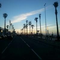 Photo taken at La Corniche de Casablanca by simo s. on 3/11/2013