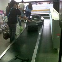 Photo taken at Aeropuerto Internacional Capitán FAP Guillermo Concha Iberico (PIU) by Jesús R. on 11/2/2012