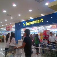 Photo taken at hypermart by 'THAZYA' Anastasia Rizki on 10/23/2012