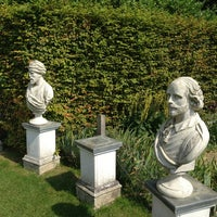 Photo taken at Painswick Rococo Garden by Andrew J. on 8/26/2013