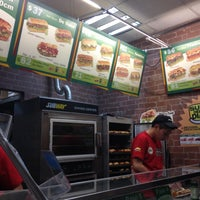 Photo taken at Subway by Alberto G. on 11/19/2012