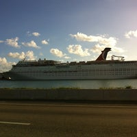 Photo taken at Port Of Miami - Carnival Cruise by Zahara M. on 12/3/2012