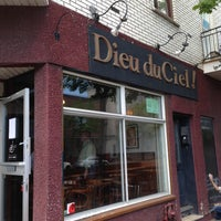 Photo taken at Dieu du Ciel! by Jean-Michel G. on 5/18/2013