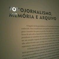 Photo taken at Instituto Moreira Salles by Glaucia P. on 3/9/2013