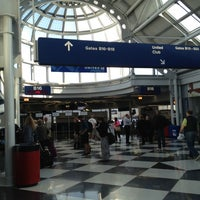 Photo taken at Gate B17 by Justin R. on 10/10/2012