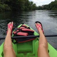 Photo taken at Savannah Rapids by Allie A. on 7/6/2014