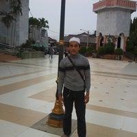 Photo taken at Alun-Alun Karawang by aad h. on 11/29/2013