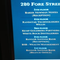Photo taken at Bangor Savings Bank by Terry M. on 11/8/2012