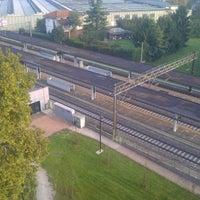 Photo taken at Stazione Caronno Pertusella by Ivan S. on 10/24/2012