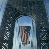 Photo taken at George Washington Bridge by Miki H. on 11/12/2012