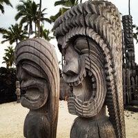 Photo taken at Puʻuhonua o Hōnaunau National Historical Park by Nathan V. on 7/15/2013