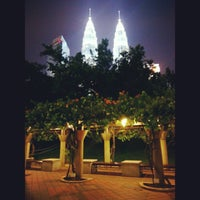 Photo taken at Kuala Lumpur City Centre (KLCC) Park by Adzramel Adnan on 6/13/2013