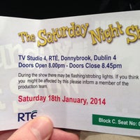 Photo taken at RTÉ by paul s. on 1/18/2014