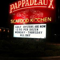 Photo taken at Pappadeaux Seafood Kitchen by Ben R. on 12/13/2012