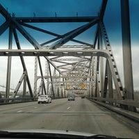 Photo taken at Carquinez Bridge by Jamie C. on 1/6/2013