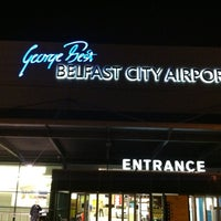 Photo taken at George Best Belfast City Airport (BHD) by Thom F. on 11/4/2012