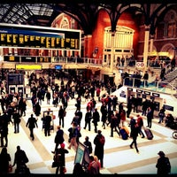 Photo taken at London Liverpool Street Railway Station (LST) by Djaia on 10/3/2012