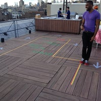 Photo taken at Meetup HQ Roof Deck by gomezcam on 6/5/2014