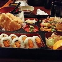 Photo taken at Sushi Bang by Angela C. on 2/10/2014