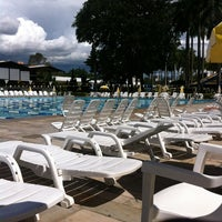 Photo taken at Piscina Olímpica by Humberto R. on 2/26/2013