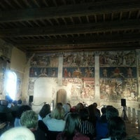 Photo taken at Palazzo Schifanoia by Demetrio on 4/26/2013