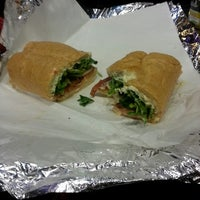 Photo taken at Caffrey's Deli & Subs by Andrea S. on 5/1/2013
