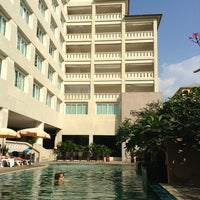 Photo taken at Crown Pattaya Beach Hotel by Анатолий on 12/27/2012