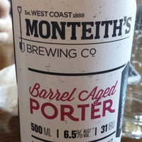 Photo taken at Monteiths Brewery Bar by David R. on 3/8/2015
