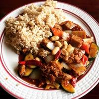 Photo taken at Garden Fresh Vegan Cuisine by Sarah W. on 12/22/2015
