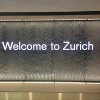 Photo taken at Zurich Airport (ZRH) by Dave M. on 6/3/2013