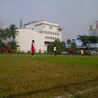 Photo taken at Gelanggang Mahasiswa Soemantri Brojonegoro by Ilham M. on 11/4/2012