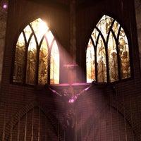 Photo taken at Saint John's Church by Suthisak on 12/25/2013