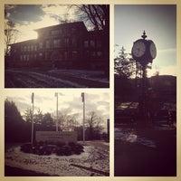 Photo taken at University of Wisconsin-River Falls by Jonas W. on 11/25/2013
