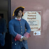 Photo taken at Spanish Military Hospital by Briley K. on 1/26/2013
