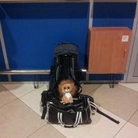 Photo taken at Terminal F (KBP) by Maks K. on 4/6/2013