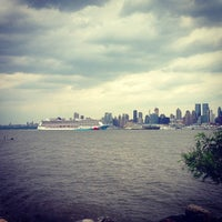 Photo taken at Weehawken Waterfront Park and Recreation Center by EHerbz on 6/16/2013