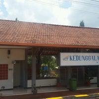 Photo taken at Stasiun Kedunggalar by Aditya Pinkawastu P. on 9/17/2016