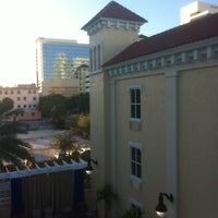 Photo taken at Hampton Inn & Suites St Petersburg Downtown by Jason G. on 12/22/2012