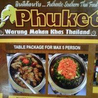 Pukhet Thailand Food Tamsis
