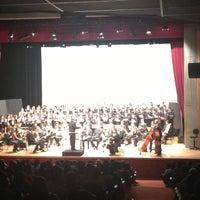 Photo taken at Teatro Escola Basileu França by Laura J. on 4/28/2013