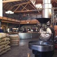 Photo taken at Sightglass Coffee by Jon C. on 11/25/2012