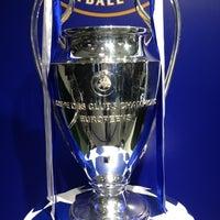 Photo taken at UEFA チャンピオンズリーグ オフィシャル ストア by Mercy M. on 12/15/2012