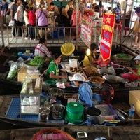 Photo taken at Wat Lam Phaya Floating Market by TukTik on 12/2/2012