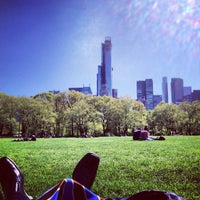 Photo taken at Sheep Meadow - Central Park by Brad B. on 5/3/2013