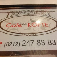 Photo taken at Cafede Köfte by Outlet H. on 6/13/2013