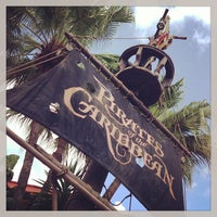 Photo taken at Pirates of the Caribbean by Brian D. on 6/28/2013