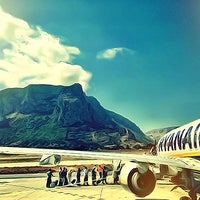 Photo taken at Palermo Airport (PMO) by Andrea S. on 6/26/2013