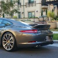 Photo taken at Beverly Hills Porsche Showroom by Ryan P. on 1/22/2013