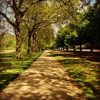 Photo taken at Hyde Park by Abdulrahman A. on 6/1/2013