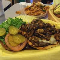 Photo taken at Sylvesters Burgers by Nancy L. on 3/28/2016